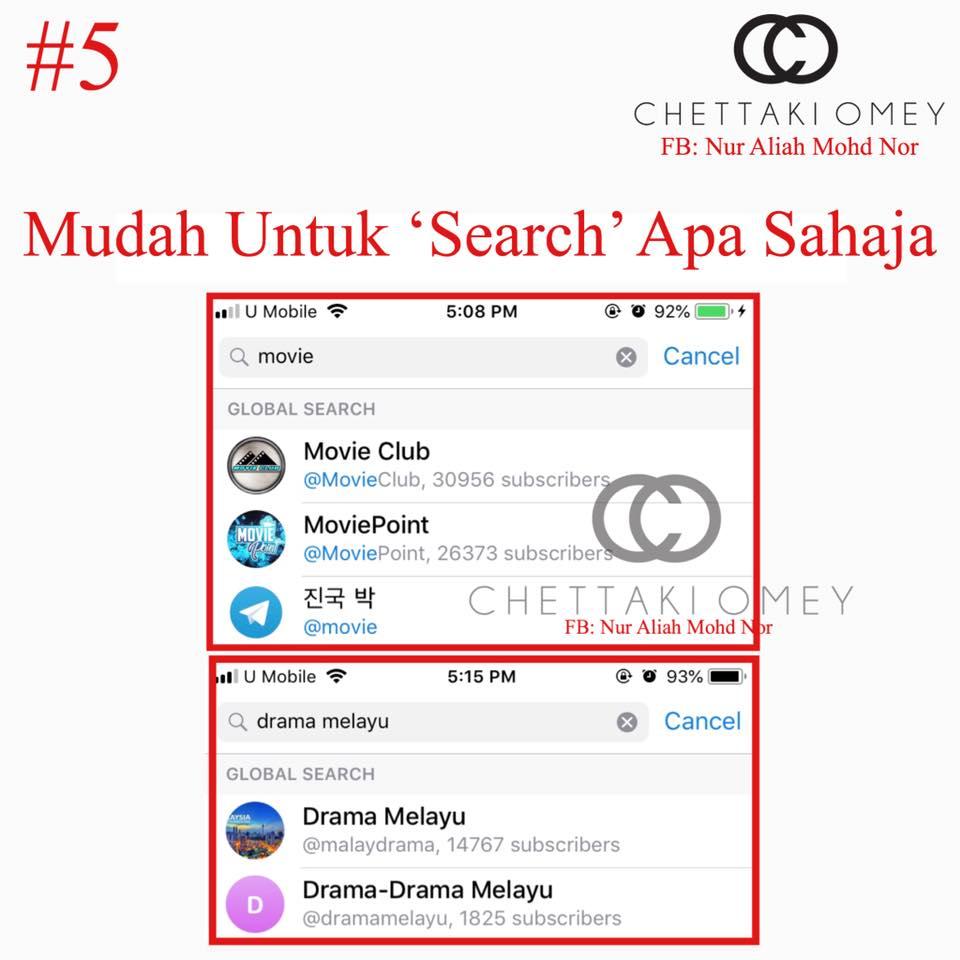 Telegram movie channel melayu