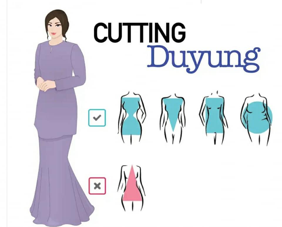 Raya Dah Nak Dekat Ini 6 Tip Pilih Baju Kurung Ikut Bentuk Badan